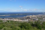 I think this was the view from Enger Tower Park.