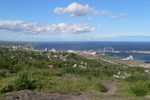 I'm certain this one was the view from Enger Tower Park.