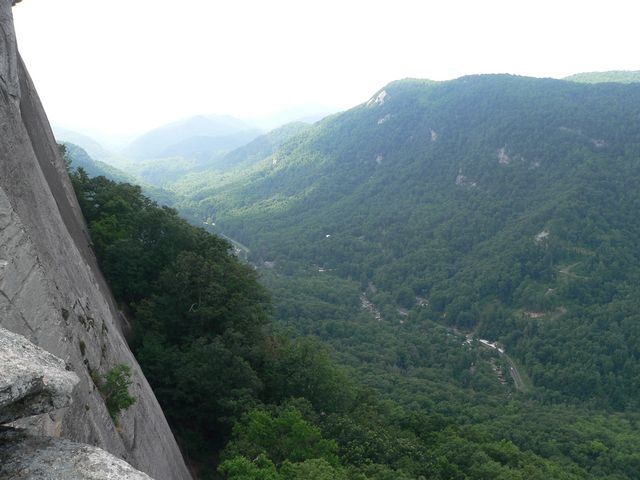 View from Chimney Rock