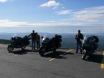 The crew at Grandfather Mountain