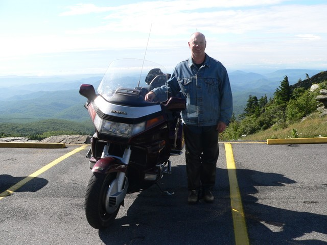Me and my trusty steed on Grandfather Mountain