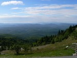 A view from the top of Grandfather Mountain