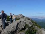 Todd on Grandfather Mountain
