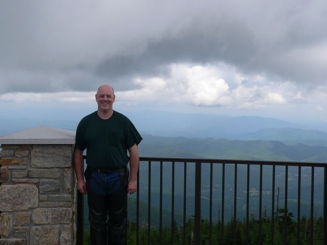 Me on top of Mt. Mitchell