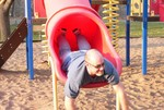 Hm. . . I thought these were supposed to be pictures of SAM playing at the park. . .